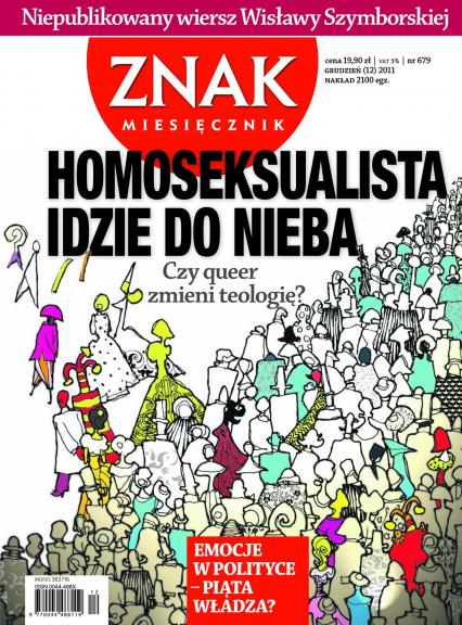 Miesięcznik Znak, numer 679 (grudzień 2011) -  | okładka
