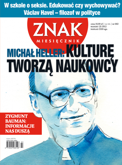 Miesięcznik Znak, numer 682 (marzec 2012) -  | okładka