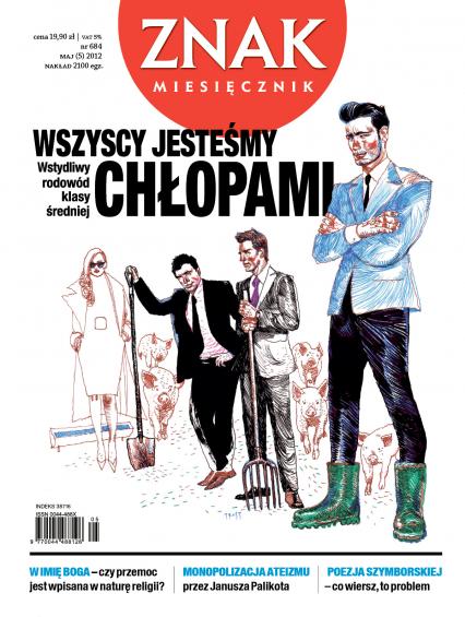 Miesięcznik Znak, numer 684 (maj 2012) -  | okładka
