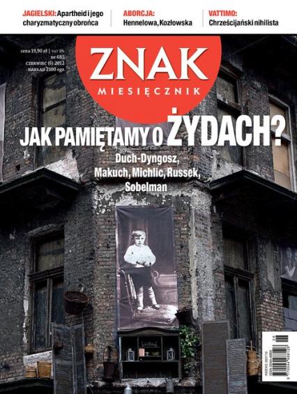 Miesięcznik Znak, numer 685 (czerwiec 2012) -  | okładka