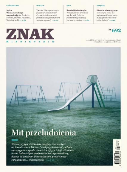 ZNAK 692 1/2013: Mit przeludnienia -  | okładka