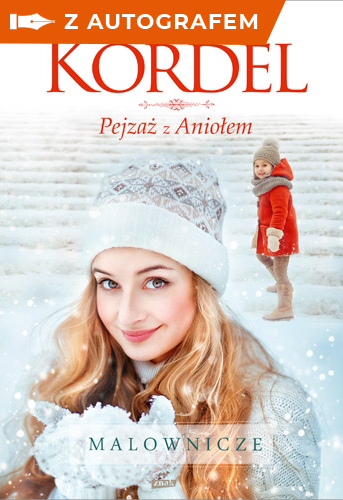 Pejzaż z Aniołem - Magdalena Kordel  | okładka