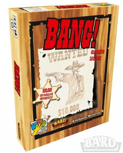Bang! - gra karciano-planszowa - Emiliano Sciarra  | okładka
