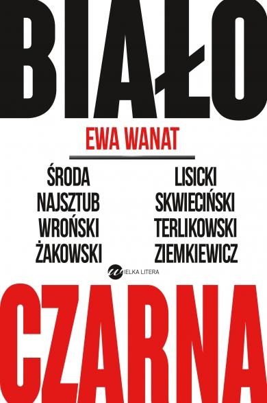 Biało-czarna - Ewa Wanat | okładka