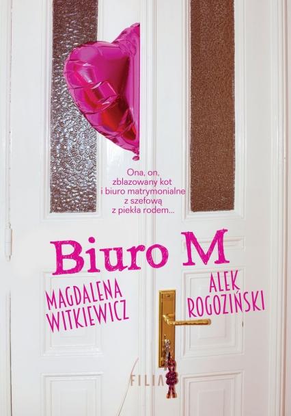 Biuro M - Magdalena Witkiewicz, Alek Rogoziński  | okładka
