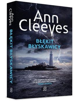 Błękit błyskawicy - Ann Cleeves | okładka