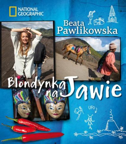 Blondynka na Jawie - Beata Pawlikowska   okładka