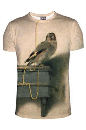 Szczygieł t-shirt, rozmiar M -  | okładka