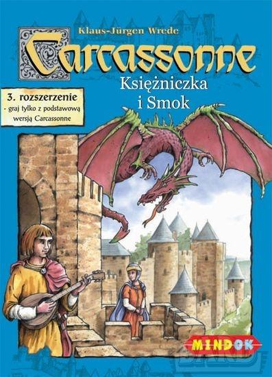 Carcassonne - Księżniczka i Smok - rozszerzenie do gry planszowej - Klaus-Jürgen Wrede | okładka