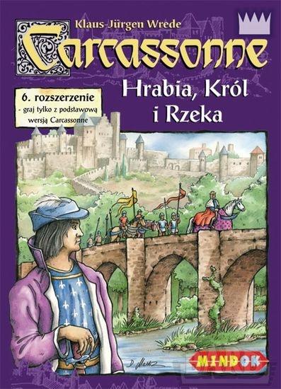 Carcassonne - Hrabia, Król i rzeka - rozszerzenie do gry planszowej - Klaus-Jürgen Wrede | okładka