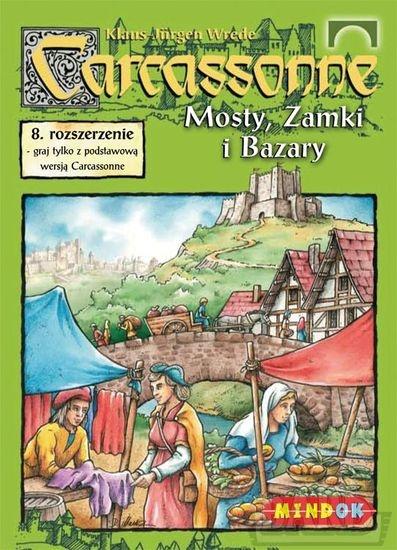 Carcassonne - Mosty Zamki i Bazary - rozszerzenie do gry planszowej - Klaus-Jürgen Wrede | okładka