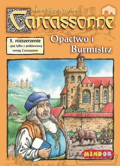 Carcassonne - Opactwo i Burmistrz - rozszerzenie do gry planszowej