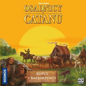 Kupcy i Barbarzyńcy z Catanu - dodatek do gry planszowej - Klaus Teuber  | okładka