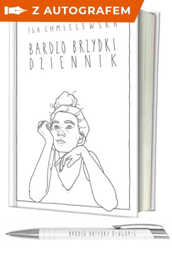 Bardzo brzydki dziennik - Iga Chmielewska | okładka