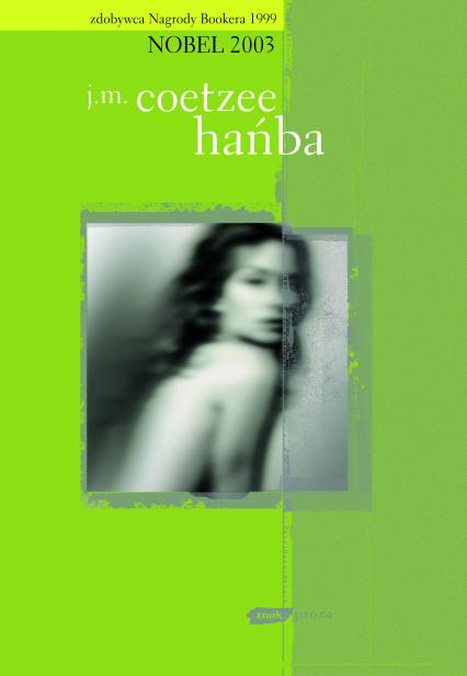 Hańba - John Maxwell Coetzee  | okładka