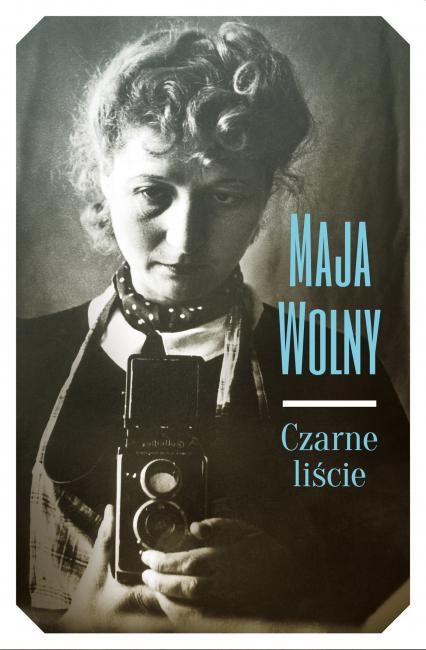 Czarne liście - Maja Wolny-Peirs   okładka