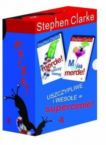 Merde! Pakiet 4 książek - Stephen Clarke | okładka