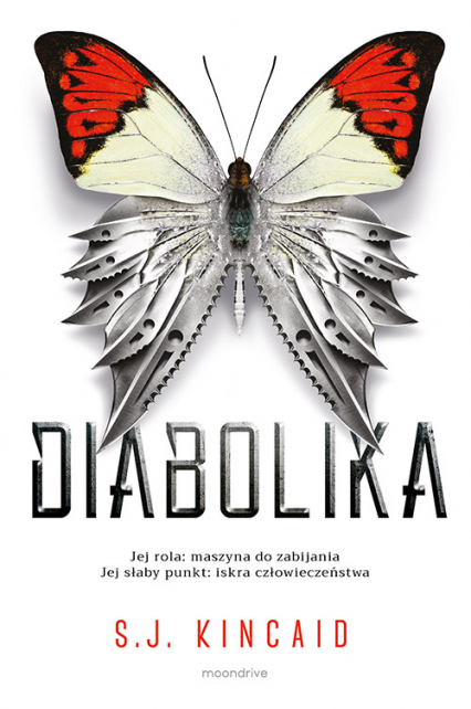 Diabolika - S.J. Kincaid | okładka