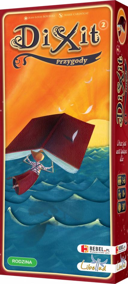 Dixit 2: Przygody - gra karciana - Jean-Louis Roubira | okładka