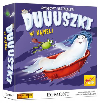 Duuuszki w kąpieli - gra planszowa -  | okładka