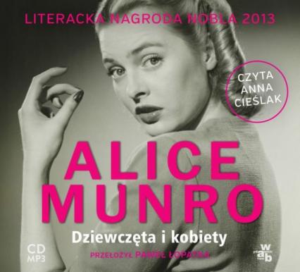 Dziewczęta i kobiety audiobook - Alice Munro | okładka