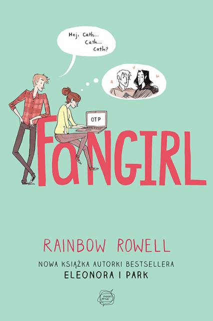 Fangirl - Rainbow  Rowell   okładka