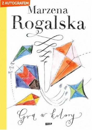 Gra w kolory - Marzena Rogalska | okładka
