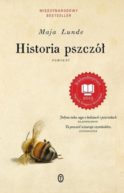 Historia pszczół - Maja Lunde | okładka
