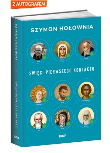 Święci pierwszego kontaktu - Szymon Hołownia | okładka