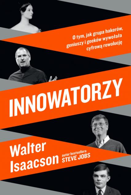 Innowatorzy - Walter Isaacson | okładka