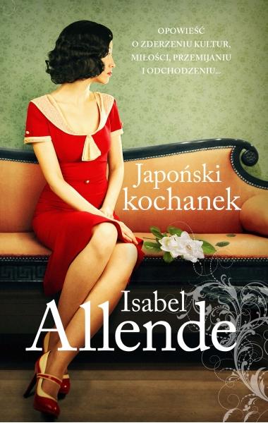 Japoński kochanek - Isabel Allende | okładka