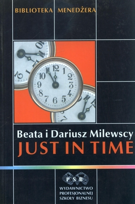 Just in time - Beata Milewska, Dariusz Milewski | okładka