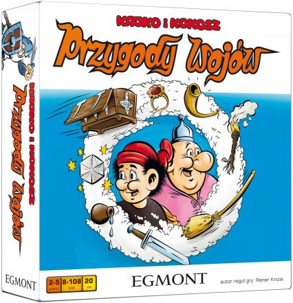 Kajko i Kokosz – Przygody wojów – gra planszowa -  | okładka