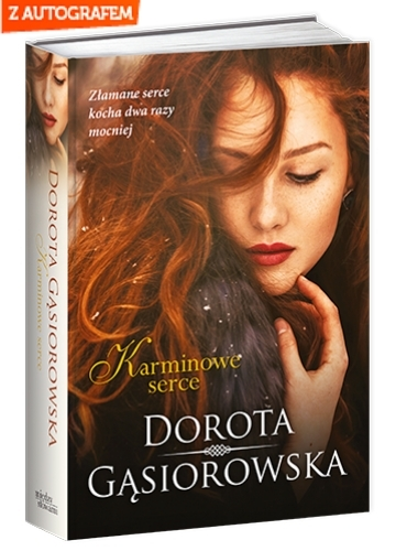 Karminowe serce - Dorota Gąsiorowska | okładka