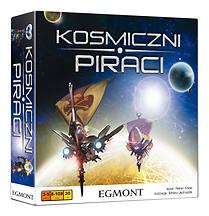 Kosmiczni piraci - gra planszowa -    okładka