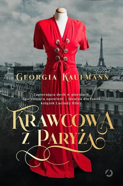 Krawcowa z Paryża - Georgia Kaufmann | okładka