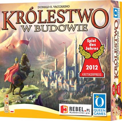 Królestwo w budowie - gra planszowa -  | okładka