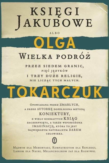 Księgi Jakubowe  - Olga Tokarczuk | okładka