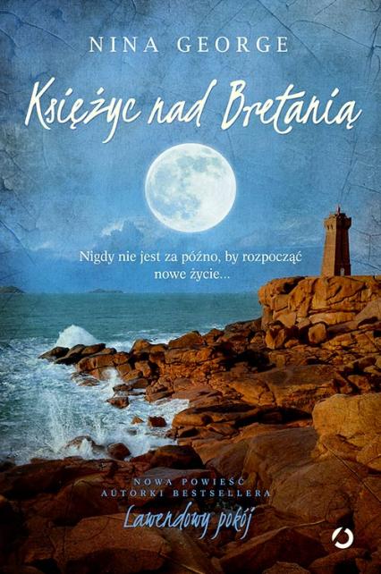 Księżyc nad Bretanią - Nina George | okładka