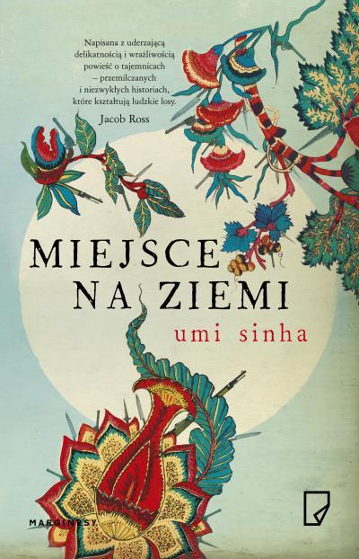 Miejsce na ziemi - Umi Sinha | okładka