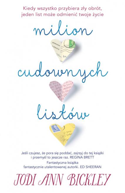 Milion cudownych listów - Bickley Jodi Ann | okładka
