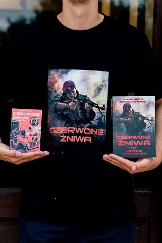 Czerwone Żniwa. Tom 1 - Paweł Majka, Radosław Rusak | okładka