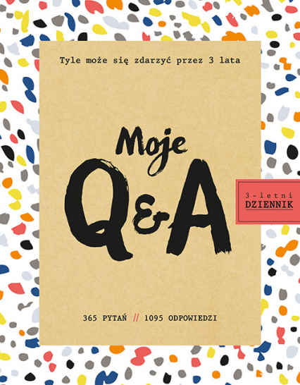 Moje Q&A. 3-letni dziennik - Betsy Franco | okładka