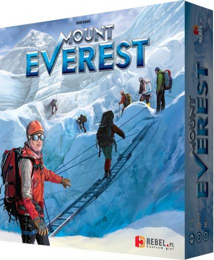Mount Everest - gra planszowa -    okładka