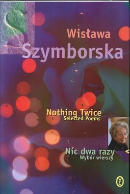 Nic dwa razy - Wisława Szymborska | okładka