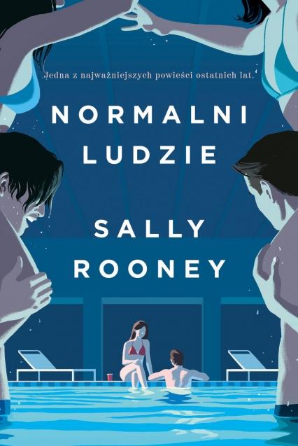 Normalni ludzie - Sally Rooney   okładka