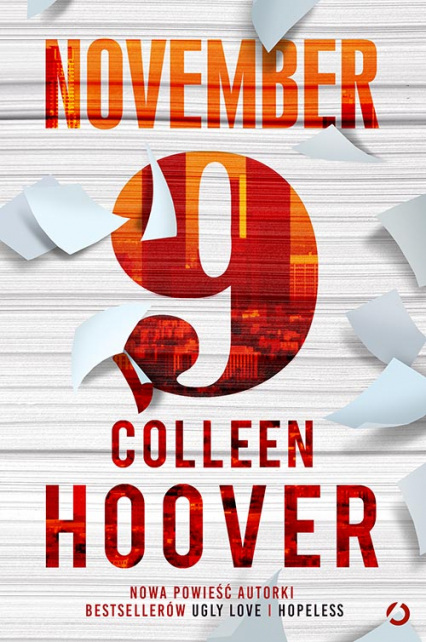 November 9 - Colleen Hoover | okładka