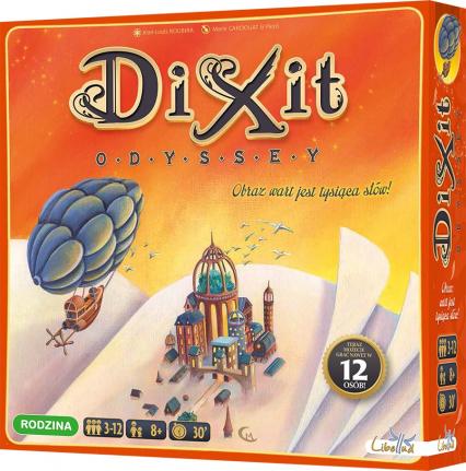 Dixit Odyssey - gra planszowa - Jean-Louis Roubira | okładka