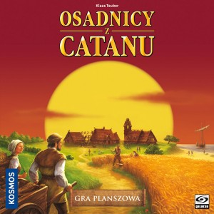 Osadnicy z Catanu - gra planszowa