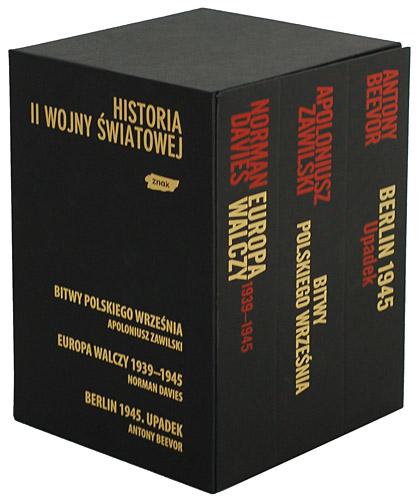Ekskluzywny pakiet trzech bestsellerów historycznych  - Antony Beevor, Norman Davies, Apoloniusz ... | okładka